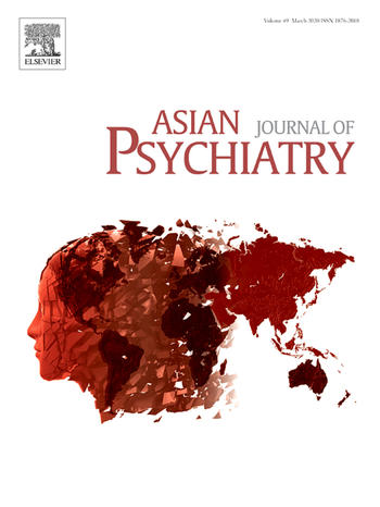 Asian Journal of Psychiatry (Cover)