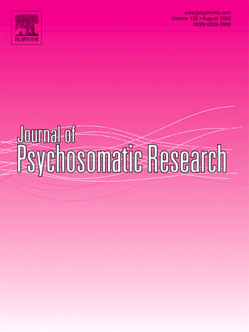 Journal of Psychosomatic Research (Cover)