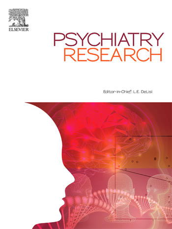 Psychiatry Research (Cover)
