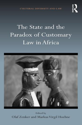 The State and the Paradox of Customary Law in Africa (Cover)