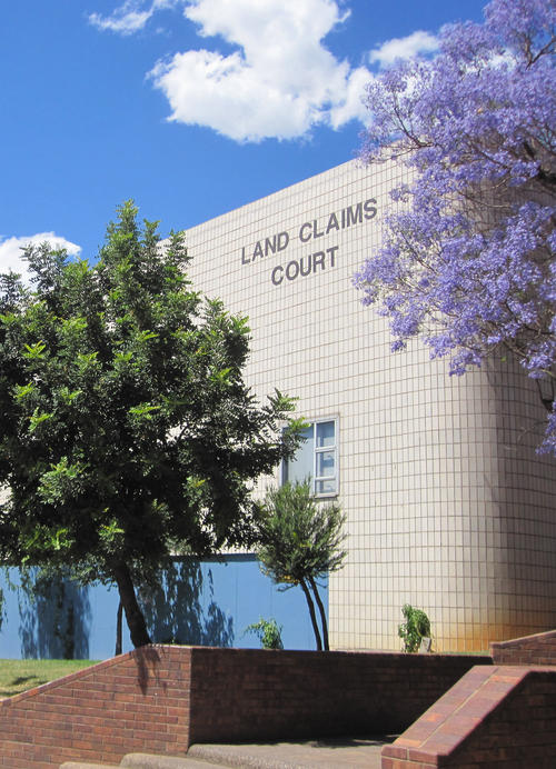 The Land Claims Court in Randburg, South Africa. Photo: Olaf Zenker