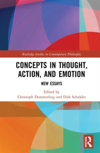 Concepts in Thought, Action, and Emotion (Cover)