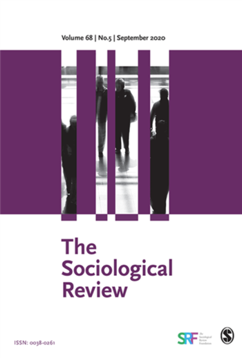 The Sociological Review (Cover)