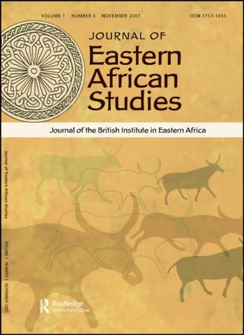 Journal of Eastern African Studies (Cover)