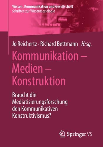 Kommunikation - Medien - Konstruktion (Cover)