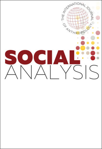 Social Analysis Journal (Cover)