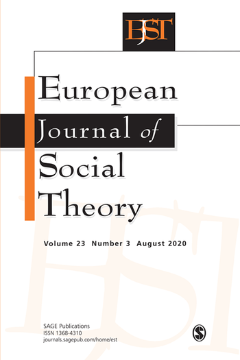 European Journal of Social Theory (Cover)