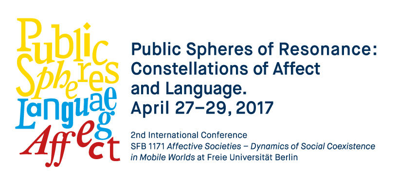 Public Spheres of Resonance: Constellations of Affect and Language